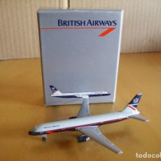 Modelos a escala: AVION SCHABAK --- BOEING 757 BRITISH AIRWAYS - 1/600. Lote 126452367