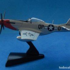 Modelos a escala: PEQUEÑA MAQUETA AVIÓN ESTÁTICA. P-51D MUSTANG. FABRICADA EN CHINA.. Lote 129380807