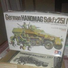 Modelos a escala: GERMAN HANOMAG SDKFZ 251/1.TAMIYA.. Lote 129412511