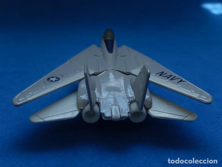 Modelos a escala: Pequeño avión. Grumman F-14 Tomcat. SB 30. Matchbox. 1989. Fabricado en Tailandia. - Foto 5 - 129545055