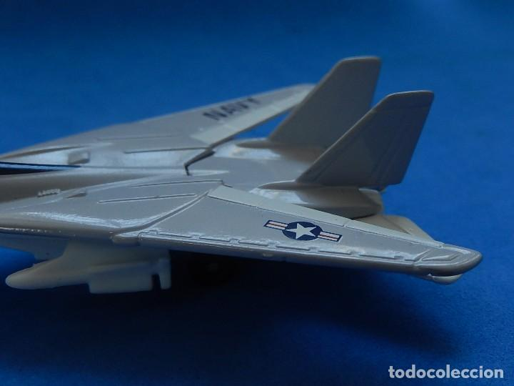 Modelos a escala: Pequeño avión. Grumman F-14 Tomcat. SB 30. Matchbox. 1989. Fabricado en Tailandia. - Foto 7 - 129545055