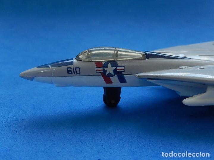 Modelos a escala: Pequeño avión. Grumman F-14 Tomcat. SB 30. Matchbox. 1989. Fabricado en Tailandia. - Foto 8 - 129545055