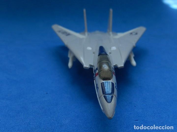 Modelos a escala: Pequeño avión. Grumman F-14 Tomcat. SB 30. Matchbox. 1989. Fabricado en Tailandia. - Foto 9 - 129545055