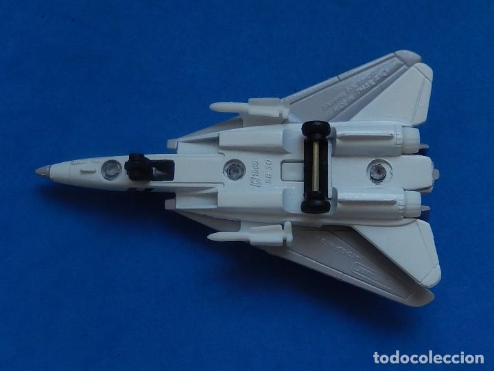 Modelos a escala: Pequeño avión. Grumman F-14 Tomcat. SB 30. Matchbox. 1989. Fabricado en Tailandia. - Foto 10 - 129545055