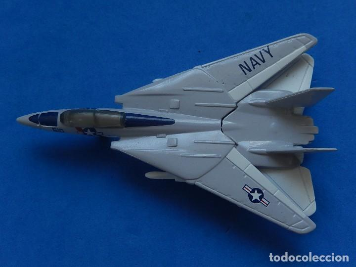 Modelos a escala: Pequeño avión. Grumman F-14 Tomcat. SB 30. Matchbox. 1989. Fabricado en Tailandia. - Foto 17 - 129545055