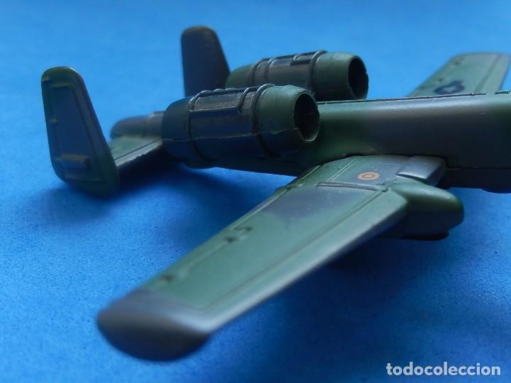 Modelos a escala: Pequeño avión. A-10 Fairchild Thunderbolt. Matchbox. SB 32. 1989. Fabricado en Macau. - Foto 5 - 129547459