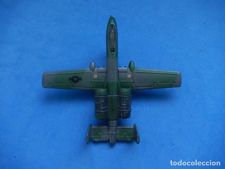 Modelos a escala: Pequeño avión. A-10 Fairchild Thunderbolt. Matchbox. SB 32. 1989. Fabricado en Macau. - Foto 9 - 129547459