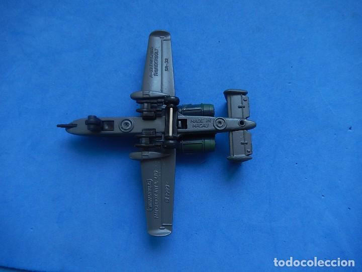 Modelos a escala: Pequeño avión. A-10 Fairchild Thunderbolt. Matchbox. SB 32. 1989. Fabricado en Macau. - Foto 10 - 129547459