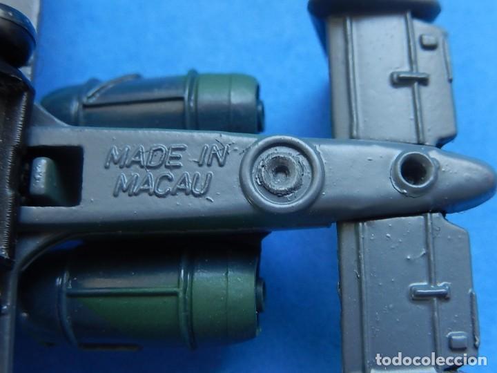 Modelos a escala: Pequeño avión. A-10 Fairchild Thunderbolt. Matchbox. SB 32. 1989. Fabricado en Macau. - Foto 13 - 129547459