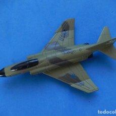 Modelos a escala: PEQUEÑO AVIÓN. F-4 PHANTOM II. RACING CHAMPIONS. 1989. FABRICADO EN CHINA.. Lote 129596795
