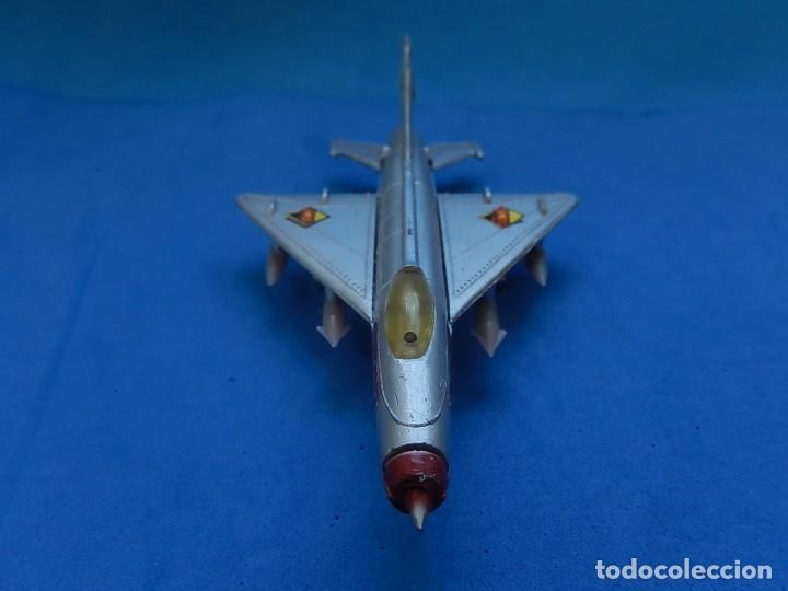Modelos a escala: Pequeño avión. MIG-21. Fabricado en Hong Kong. - Foto 8 - 129673011