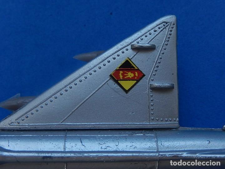 Modelos a escala: Pequeño avión. MIG-21. Fabricado en Hong Kong. - Foto 18 - 129673011