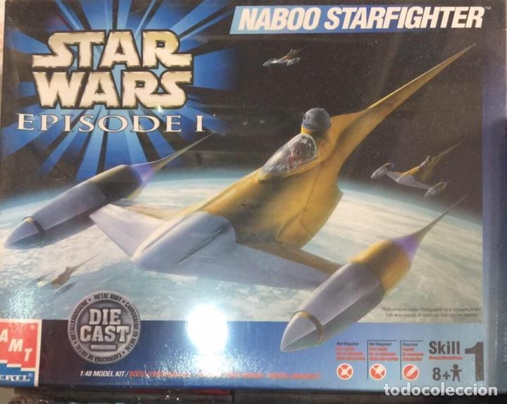 NAVE STAR WARS NABOO STARFIGHTER (Juguetes - Modelos a escala)