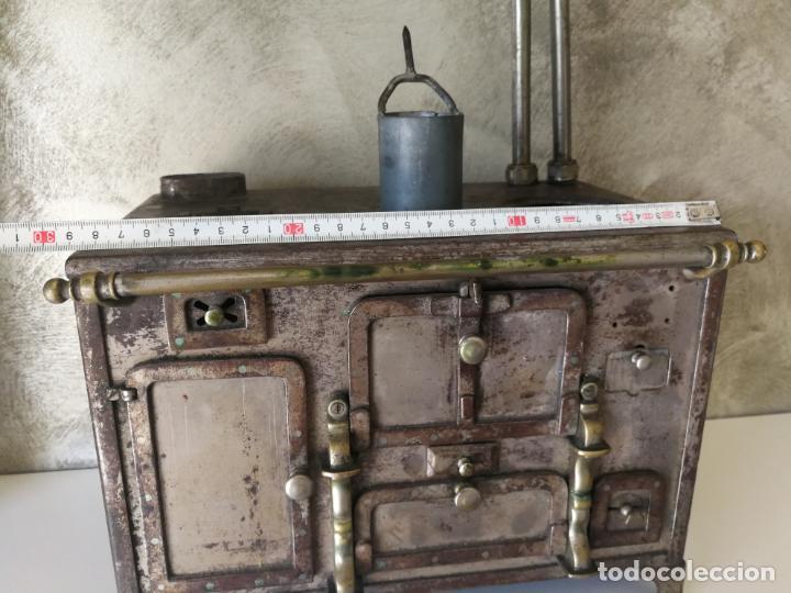 Modelos a escala: ANTIGUA COCINA DE JUGUETE ECONÓMICA DE HIERRO FUNDIDO Y LATON - Foto 22 - 130682699