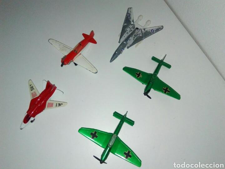 Modelos a escala: Lote 5 aviones matchbox - Foto 2 - 132165726