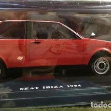 Modelos a escala: COCHE CLÁSICO SEAT IBIZA - AÑO 1984 (ESCALA 1:24) COCHES INOLVIDABLES. Lote 134916926