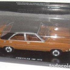 Modelos a escala: COCHE CLÁSICO CHRYSLER 180 - 1975. MATRICULA DE CASTELLÓN (ESCALA 1:24) COCHES INOLVIDABLES. Lote 134923294