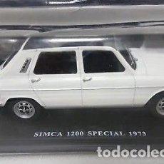 Modelos a escala: COCHE CLÁSICO SIMCA 1200 SPECIAL - AÑO 1973. MATRÍCULA DE MADRID (ESCALA 1:24) COCHES INOLVIDABLES. Lote 152677352