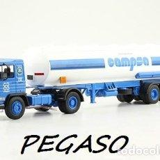 Modèles réduits: CAMIÓN PEGASO 1231T CAMPSA BOCANEGRA 1/43 IXO SALVAT DIECAST. Lote 136727582