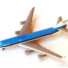 Modelos a escala: HERPA WINGS 1:500 • BOEING 747-400 KLM ASIA 'CITY OF MEXICO' • METÁLICO ESCALA 1/500. Lote 138393962