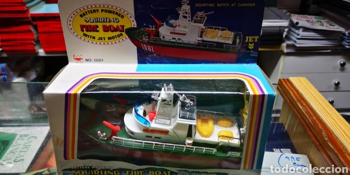 Modelos a escala: Barco Fire boat.Perfecto estado. - Foto 2 - 138549594