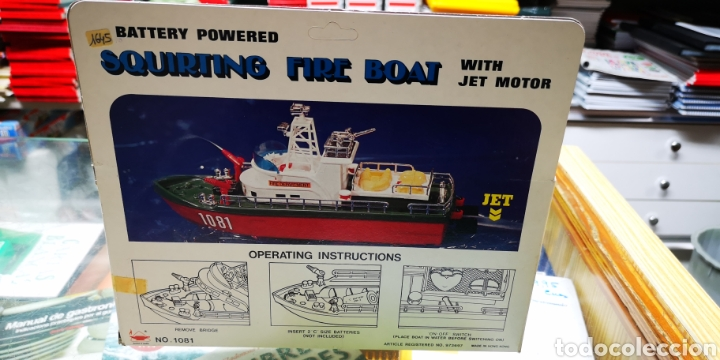 Modelos a escala: Barco Fire boat.Perfecto estado. - Foto 3 - 138549594