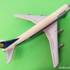 Modelos a escala: SCHUCO BOEING 747 COMPAÑIA LUFTHANSA.MIDE 9CM.. Lote 139996194