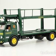 Modelos a escala: CAMIÓN PEGASO 1060L CABEZON TRADISA PORTACOCHES 1970 1/43 IXO SALVAT. Lote 140087418