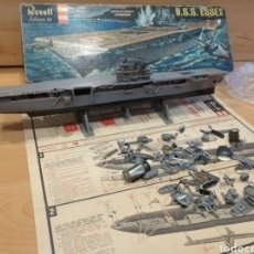 Modelos a escala: MAQUETA REVELL AUTHENTIC KIT U.S.S. ESSEX. Lote 141527233