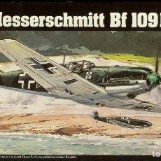 Modelos a escala: MESSERSCHMITT BF 109E DE HELLER 1/72 KIT PARA MONTAR. Lote 142114918