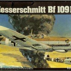 Modelos a escala: MESSERSCHMITT BF 109 F DE HELLER 1/72 KIT PARA MONTAR. Lote 142172530