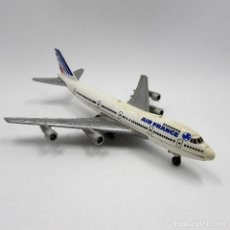 Modelos a escala: ERTL 2381 BOEING 747 AIR FRANCE DIE CAST METAL 1988 ESCALA 1/400 (2360). Lote 143226198