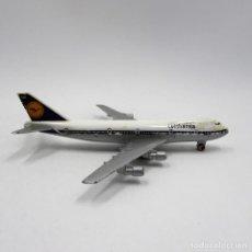 Modelos a escala: SCHABACK 901 BOEING 747 LUFTHANSA DIE CAST METAL ESCALA 1/600 (2362). Lote 143226638