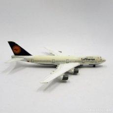 Modelos a escala: SCHABACK 901 BOEING 747 LUFTHANSA DIE CAST METAL ESCALA 1/600 (2367). Lote 143644226