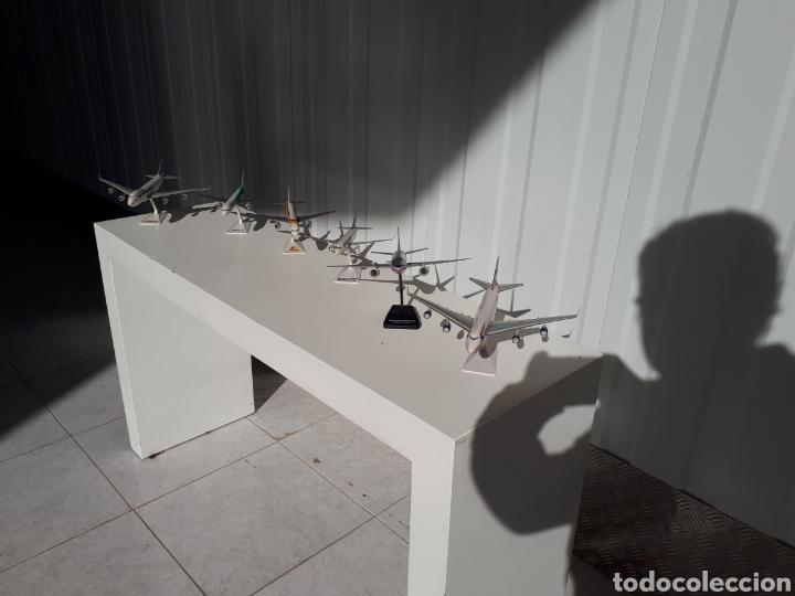 Modelos a escala: Lote de 6 aviones completos a escala compañías aereas - Foto 4 - 143791688