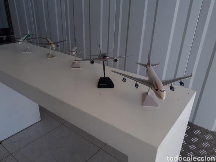 Modelos a escala: Lote de 6 aviones completos a escala compañías aereas - Foto 6 - 143791688