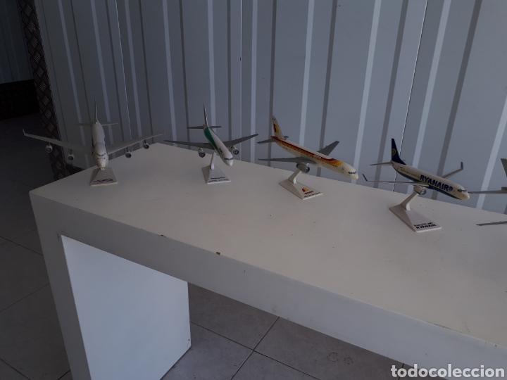 Modelos a escala: Lote de 6 aviones completos a escala compañías aereas - Foto 7 - 143791688