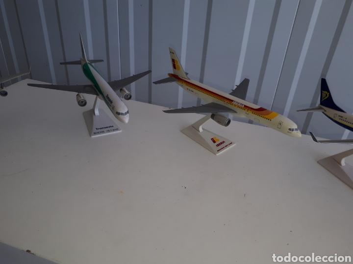 Modelos a escala: Lote de 6 aviones completos a escala compañías aereas - Foto 8 - 143791688