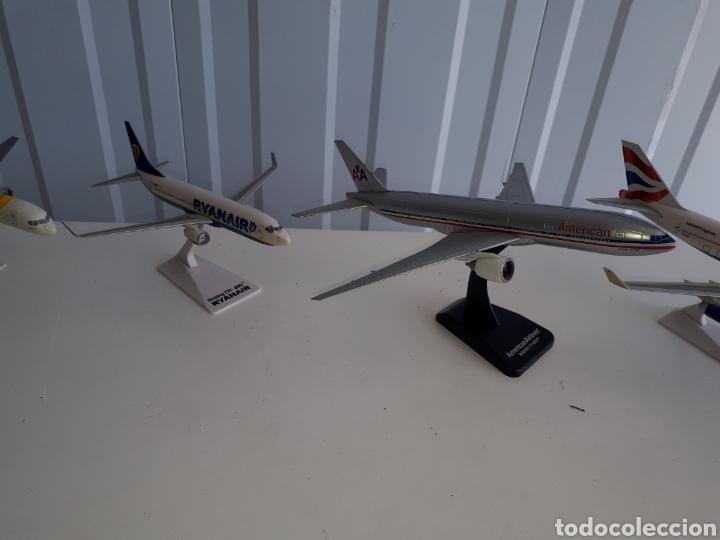 Modelos a escala: Lote de 6 aviones completos a escala compañías aereas - Foto 9 - 143791688