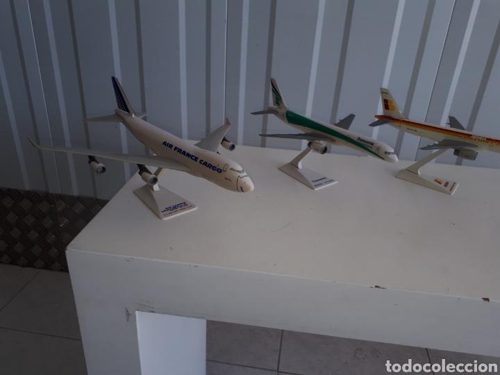 Modelos a escala: Lote de 6 aviones completos a escala compañías aereas - Foto 10 - 143791688