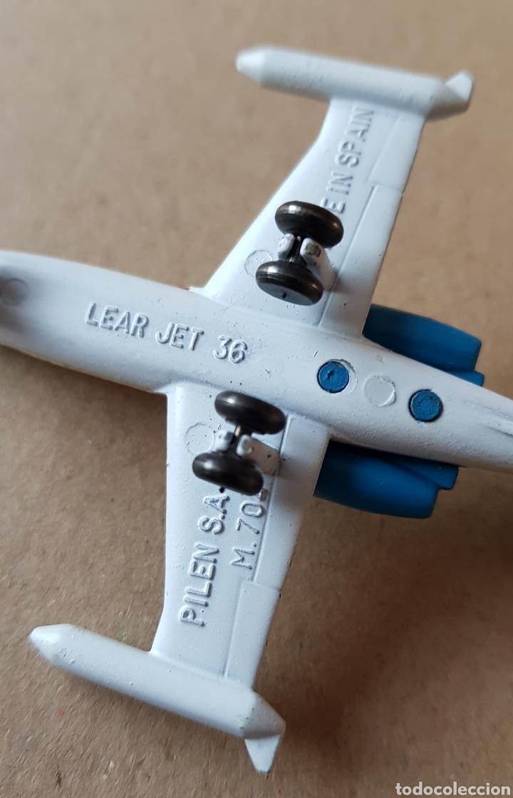 Modelos a escala: Avión Ejecutivo de Plomo Learjet 36 - Foto 8 - 143803588