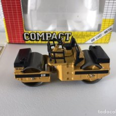 Modelos a escala: PRECIOSA MÁQUINA COMPACTADORA CAT JOAL 1:50. Lote 145601622