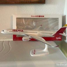 Modelos a escala: PRECIOSO AVIÓN DE COLECCIÓN AIRBUS A350 IBERIA HERPA 1:200. Lote 150811500