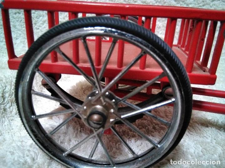 Modelos a escala: precioso triciclo con carrito - Foto 4 - 150981394