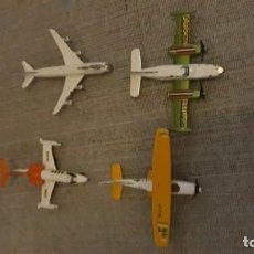 Modelos a escala: LOTE DE 4 AVIONES PILEN S.A MADE IN SPAIN. Lote 152740122