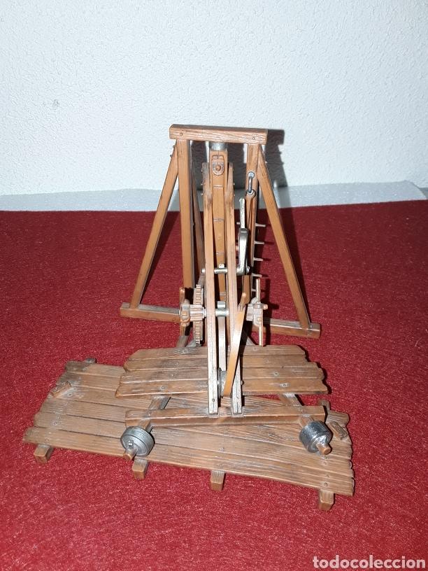 Modelos a escala: Máquina de asedio - Foto 3 - 155854636