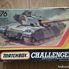Modelos a escala: MAQUETA CARRO DE COMBATE BRITÁNICO CHALLENGER 1 DE MATCHBOX A ESCALA 1/76. Lote 157049150