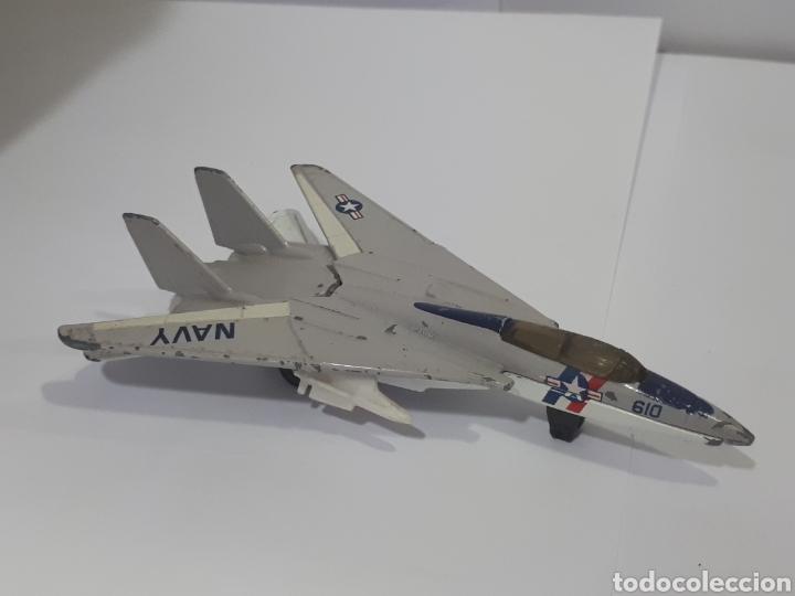 Modelos a escala: Avión. Grumman F-14 Tomcat. SB 30. Matchbox. 1989.Made in Thailand - Foto 5 - 158399462