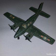 Modelos a escala: DINKY TOYS - AVIÓN BEECHCRAFT C55 BARON U.S. ARMY DIECAST DIE CAST. Lote 158972278