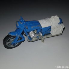 Modelos a escala: MAJORETTE - HONDA 750 MOTO DE POLICÍA REF. 203 C-1 MOTO POLICE DIE CAST MADE IN FRANCE 1980. Lote 158974566